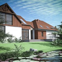 Rozbudowa domku jednorodzinnego.