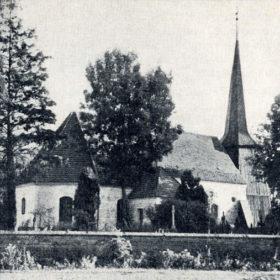 Kościół w latach 30-tych XXw